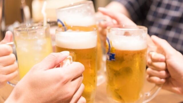 汗疱の原因がお酒(アルコール)の場合